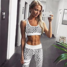 Load image into Gallery viewer, Leopard Print Activewear - SWANBOUTIQ