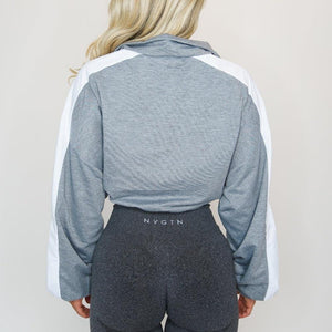 Long Sleeve Fitness Sport Jacket - SWANBOUTIQ