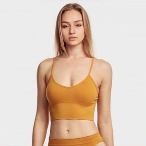 Mystery Deal: Breathable Seamless Spaghetti Strap Sports Bra - 3 Pack - SWANBOUTIQ