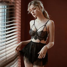 Load image into Gallery viewer, Sexy V-Neck Nightwear Lingerie - SWANBOUTIQ