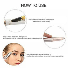 Load image into Gallery viewer, Painless Electric Eyebrow Epilator Device - SWANBOUTIQ