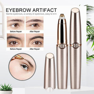 Painless Electric Eyebrow Epilator Device - SWANBOUTIQ