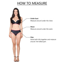Load image into Gallery viewer, Plus Size High Waist Bikini Sets - SWANBOUTIQ