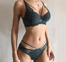 Load image into Gallery viewer, Push Up Bra & Brief Lingerie Sets - SWANBOUTIQ