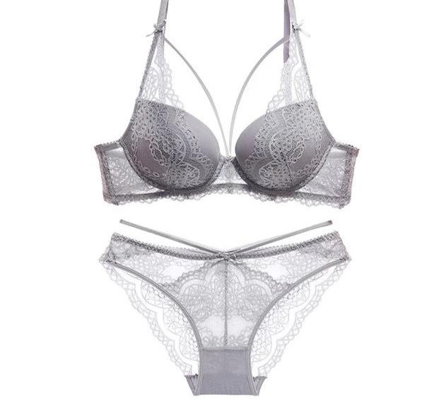 Push Up Bra & Brief Lingerie Sets - SWANBOUTIQ