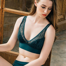 Load image into Gallery viewer, Sexy Lace Wireless Bra Lingerie Set - SWANBOUTIQ