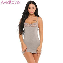 Load image into Gallery viewer, Sexy Nightgown Sleepwear - SWANBOUTIQ