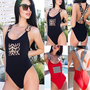Sexy One Piece Swimsuit - SWANBOUTIQ