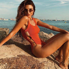 Load image into Gallery viewer, Sexy One Piece Swimwear - SWANBOUTIQ