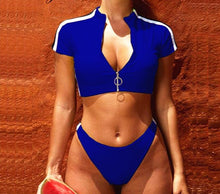 Load image into Gallery viewer, Bikini Sport Swimwear Set - SWANBOUTIQ