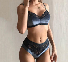 Load image into Gallery viewer, Velvet Bra Sets - SWANBOUTIQ
