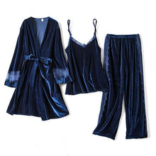 Load image into Gallery viewer, Velvet Pyjamas Set - SWANBOUTIQ