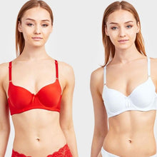 Load image into Gallery viewer, Women's Full or Demi Cup Plain Bra - 6 Pack - SWANBOUTIQ