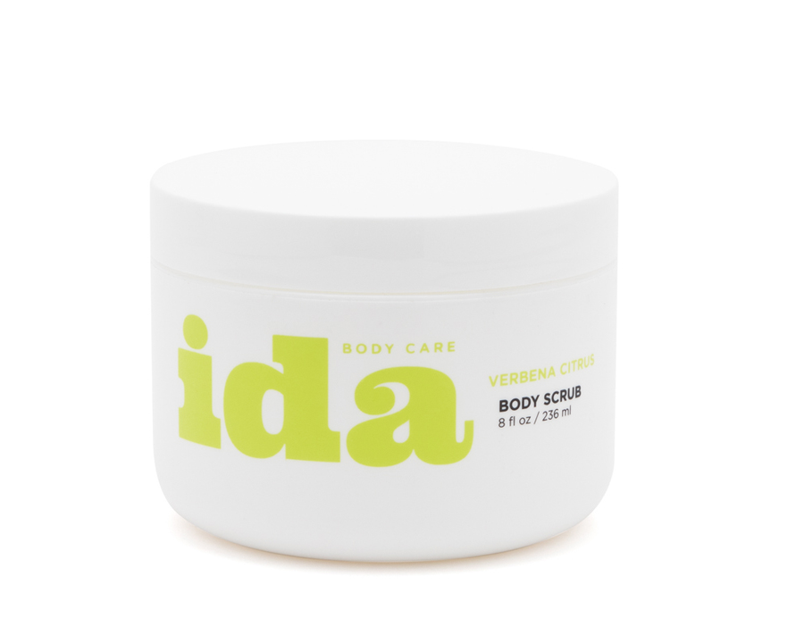 Ida Body Care 8oz. Verbena Citrus Body Scrub