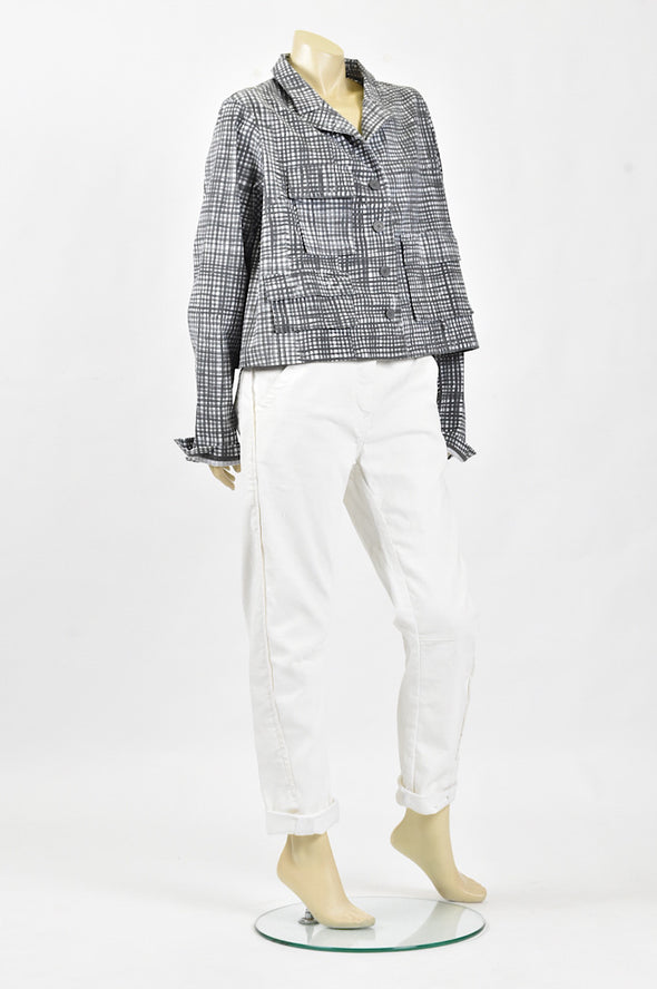 Studio Rundholz outsized jacket Check