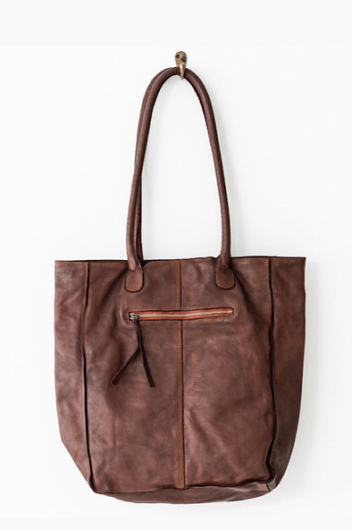 Juju Boston tote in Cognac