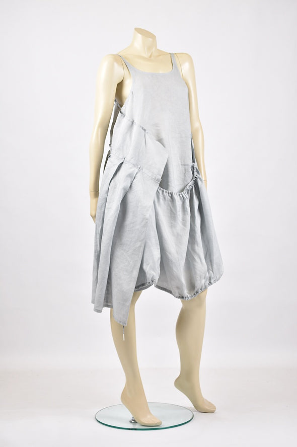 Studio Rundholz pleat dress in grey