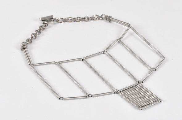 Monica Trevisi necklace geometric short