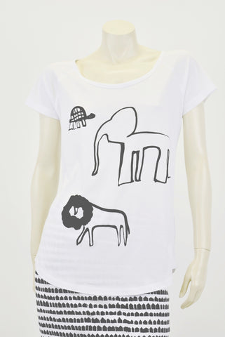 RCKP Tee shirt Elephant & Turtle