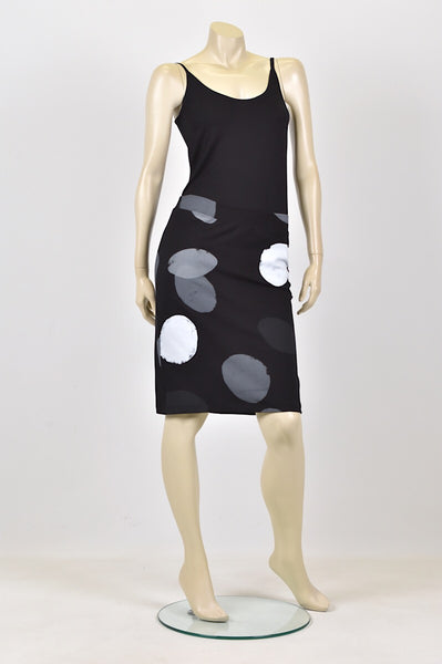 Tzusk ovals skirt in black