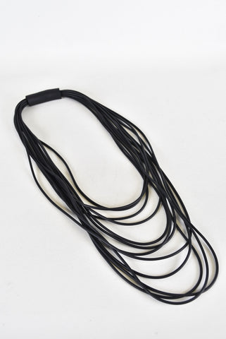 Neo multistranded necklace