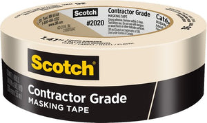 "3M 2020-36A 1-1/2"" x 60Yd General Purpose Masking Tape (24 PACK)"