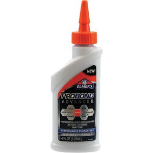 Elmers 7502 4 oz. Probond Advanced Multi Surface Glue