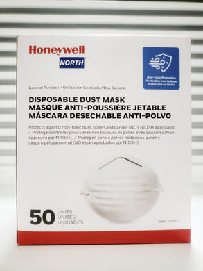 Honeywell RWS-54001 Dust Mask (50 PACK)