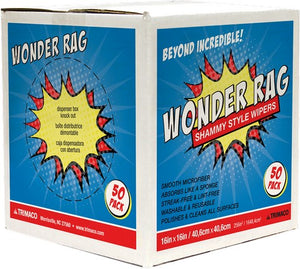 Trimaco 83650 Wonder Rags Box 50Pk