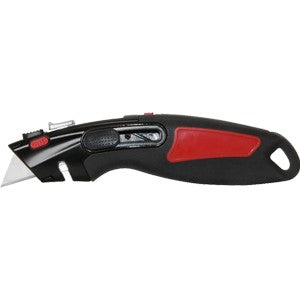 Warner 11181 Auto Lock & Auto Retractable Utility Knife, w/ 1 Blade