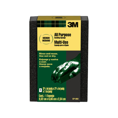 3M CP-002 Medium Full Size Sanding Sponge
