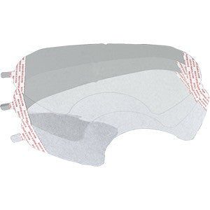 3M 6885P10-C Lens Cover for 6000 Series Full-Face Respirator 10Pk