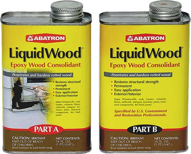 Abatron LW2PKR Pt Part A + Pt Part B LiquidWood - 2 Part Epoxy Wood Consolidant