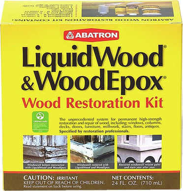 Abatron WRK60R 709ml (24 oz.) Wood Restoration Kit