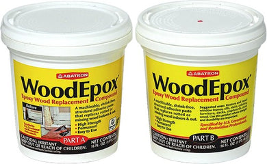 Abatron WE2PKR Pt Part A + Pt Part B Epoxy Wood Filler