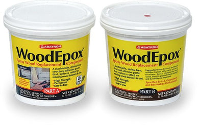 Abatron WE2QKR Qt Part A + Qt Part B Epoxy Wood Filler