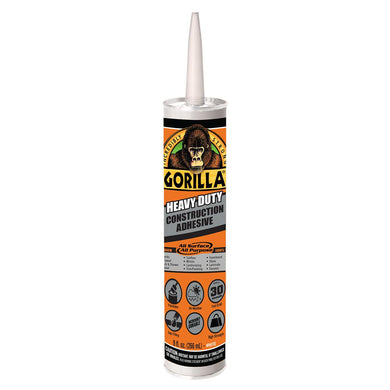 Gorilla Glue 8010003 9 oz. Gorilla Glue Construction Adhesive