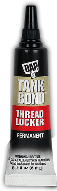 Dap 00165 .2 oz Tankbond Thread Locker Med Strength