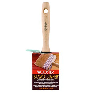 Wooster F5116  Bravo Stainer White China Bristle Stain Brush