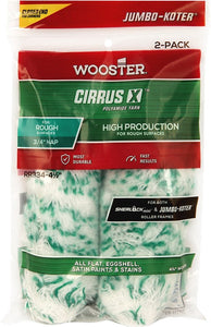 "Wooster RR334 4 1/2"" X 3/4"" Cirrus X Closed-End Jumbo-Koter 2-Pack"