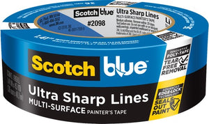 "3M 2098-36D 1.41"" X 45Yd Platinum Painters Tape"