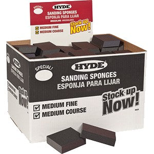 Hyde 49520 Irregular Sanding Block Box 100Pk