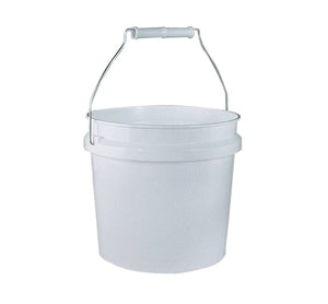 Leaktite 1GL White 1 Gallon Plastic White Pail