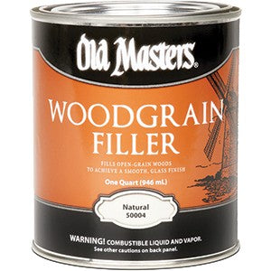 Old Masters 50004 Qt Woodgrain Filler