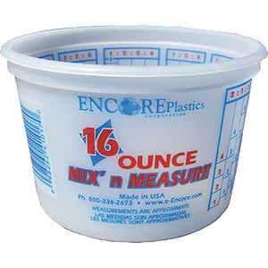 Encore 41017 Pt Mix N Measure Plus Ratios Container
