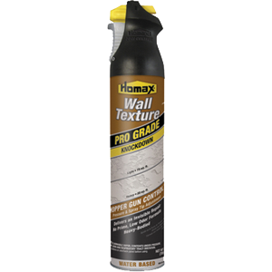 Homax 4565 25 oz. Prograde Knockdown Water Based Wall spray (6 PACK)