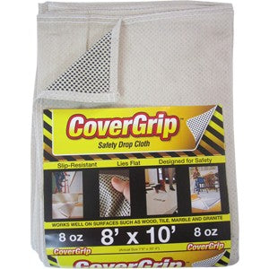 Covergrip 081008 8' x 10' Safety Drop Cloth