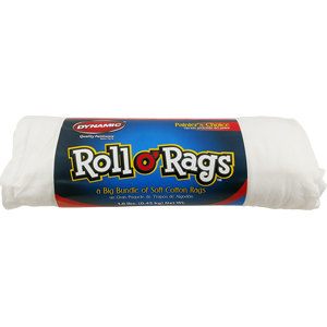 Dynamic 6300-01-DYN 1Lb White Roll O' Rags