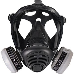 Honeywell Safety RAP-74037 5400 Full Facepiece Respirator w/OV/R95 Medium/Large