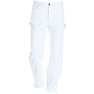 Dickies 2053WH White Double Knee Painters Pants
